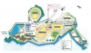 鴻ノ池公園map0827 - -第3ゲート